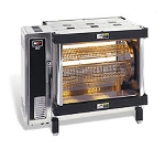 B.K.I. DR-34 2401 Electric 5-Spit Commercial Rotisserie, 240v/1ph