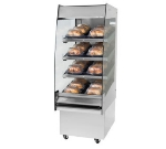 "B.K.I. HSS2-2 240 24"" Hot Self Serve Merchandiser w/ Marine Edge & (2) Slanted Shelves, 240/1 V"