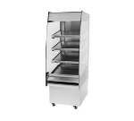 "B.K.I. HSS2-4T 240 24"" Hot Self Serve Merchandiser, Marine Edge & (4) Slanted Tall Shelf, 240/1 V"