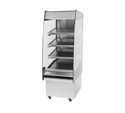 B. K. I. HSS2-4T 208 24-in Hot Self Serve Merchandiser, Marine Edge & (4) Slanted Tall Shelf, 208/1 V