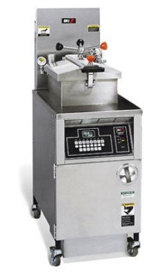 B.K.I. LGF 48-lb Gas Pressure Chicken Fryer - LP