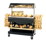 B. K. I. MM-4 2301 46.87-in Mobile Heat Display Merchandiser, 6-in Well, Holds 24-Chicken, 230/1 V