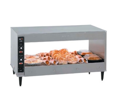 "B.K.I. SM-39 39"" Self-Service Countertop Heated Display Shelf - (1) Shelf, 120v"