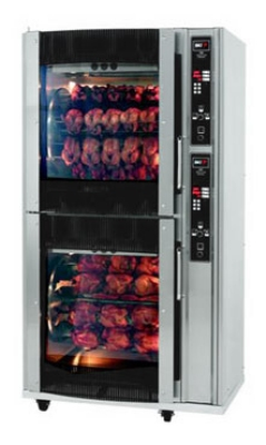BKI VGG-16-C Electric 80-Bird Commercial Rotisserie, 240v/3ph