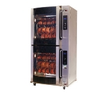 B.K.I. VGG-16-C-PT Electric 80-Bird Commercial Rotisserie, 240v/3ph