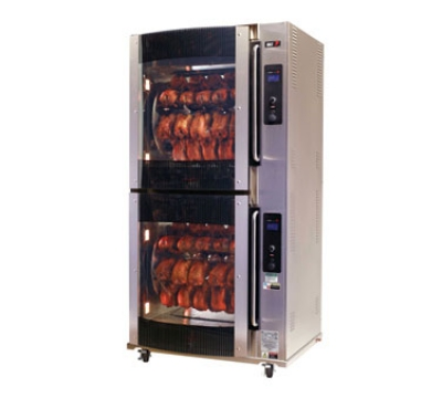 B.K.I. VGG-16-F-PT Electric 80-Bird Commercial Rotisserie, 240v/3ph