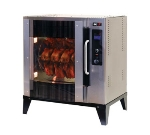 B.K.I. VGG-5-F-PT Electric 20-Bird Commercial Rotisserie, 240v/3ph
