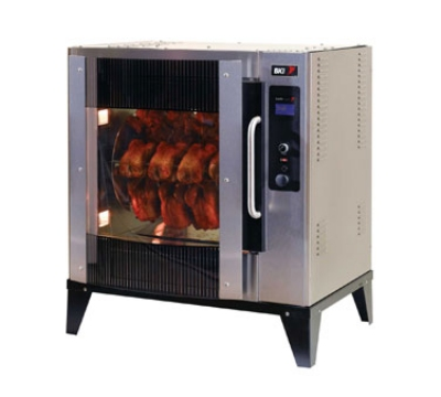 B.K.I. VGG-5-C-PT Electric 20-Bird Commercial Rotisserie, 240v/3ph