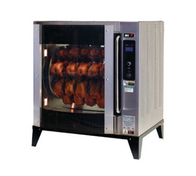 B.K.I. VGG-8-C Electric 40-Bird Commercial Rotisserie, 208v/3ph