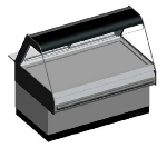 B.K.I. WDCG-4T 2083 Global Heated Display Merchandiser w/ 4-Wells & 55.5-in Custom Case, 208/3 V