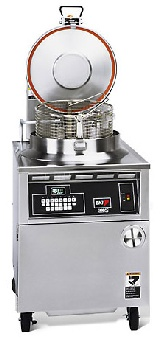 B.K.I. FKM-F 75-lb Electric Pressure Chicken Fryer - 280v/3ph