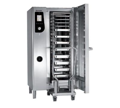 B.K.I. HE201 Half-Size Combi-Oven, Boiler Based, 208v/3ph