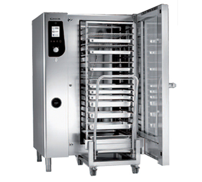 B.K.I. HE202 Full-Size Combi-Oven, Boiler Based, 208v/3ph