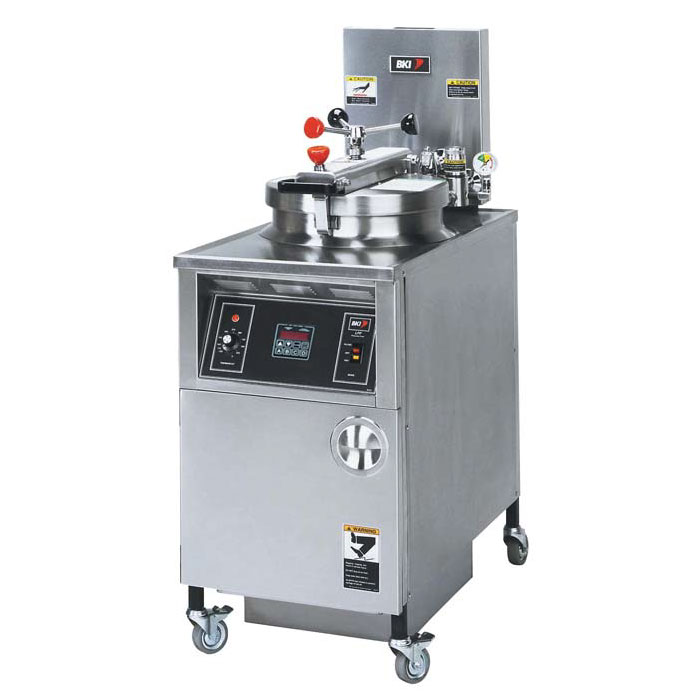 B.K.I. LPF-F 48-lb Electric Pressure Chicken Fryer - 240v/3ph
