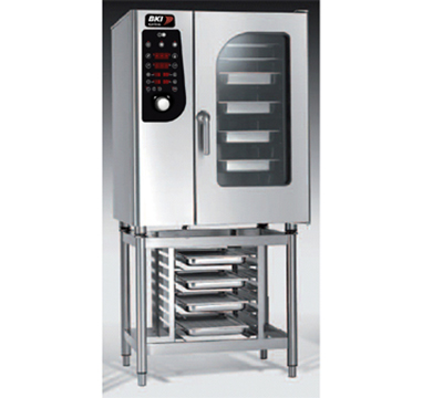 B.K.I. ME101 Half-Size Combi-Oven, Boiler Based 208v/3ph
