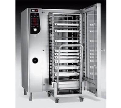 BKI ME202 Full-Size Combi-Oven, Boiler Based, 208v/3ph
