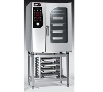 B.K.I. MG101 Half-Size Combi-Oven, Boiler Based, LP