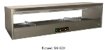 "B.K.I. SM-2624R 26"" Self-Service Countertop Heated Display Shelf - (1) Shelf, 120v"