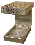 "B.K.I. WS-13 Countertop Fried Food Warmer w/ Radiant Heat, Holds 12 x 20"" Pan, 120 V"