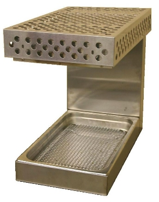 "B.K.I. WS-13 13"" Countertop Fry Warmer Dump Station - Rod-Type, 120v"