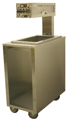 "B.K.I. WS-15STC 18"" Countertop Fry Warmer Dump Station - Rod-Type, 120v"