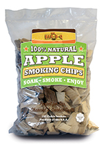 Chef Master / Mr. Bar B Q 05012 Apple Wood Smoking Chips, 160 Cubic Feet