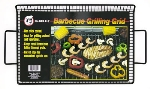 Chef Master / Mr. Bar B Q 06011C Large Grilling Grid, Non-Stick, With Handles, Raised Edges, 10-1/2 X 15 in