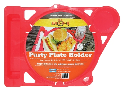 Chef Master / Mr. Bar B Q 40175X Outdoor Picnic BBQ Plate Holder