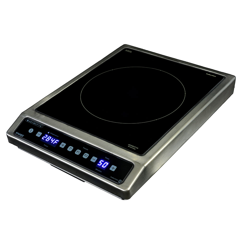 Equipex BRIC 3000 Countertop Commercial Induction Cooktop w/ (1) Burner, 3.0-kW, 208-240v/1ph