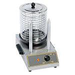 Equipex CS2E Hot Dog Steamer w/ 40-Hot Dog Capacity & 2-Toasting Spikes, 120v