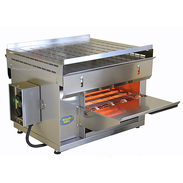 "Equipex CT-3000 Conveyor Toaster - 540-Sandwiches/hr w/ 2.375"" Product Opening, 208v/1ph"