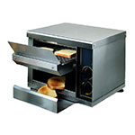 Equipex CT-540 Conveyor Bagel Toaster w/ 540-Slices/hr - Stainless, 208v/1ph