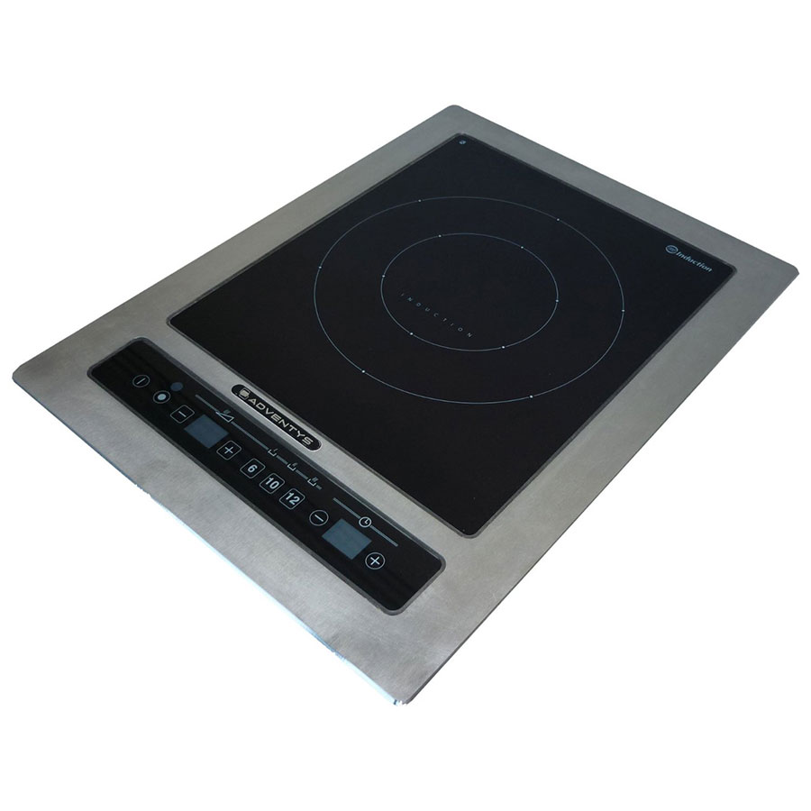 Equipex DRIC 3000 Drop-In Commercial Induction Cooktop w/ (1) Burner, 3.0-kW, 208-240v/1ph