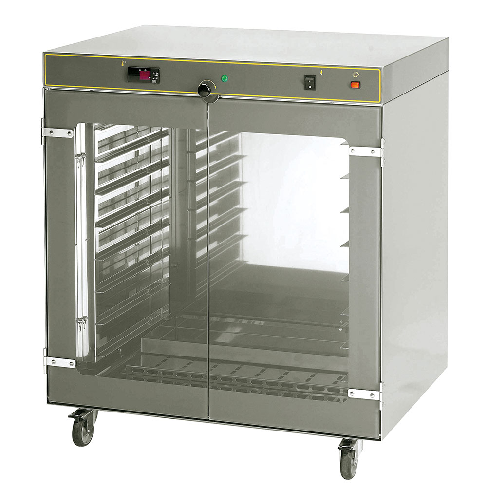 Equipex EP-800 Countertop Mobile Heated Cabinet w/ (8) Pan Capacity, 208-240v/1ph