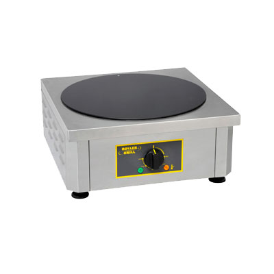 Equipex 400VC 15.75-in Crepe Machine & Tortilla Warmer w/ Vitro Ceramic Work Surface, Stainless