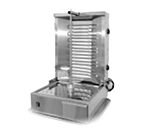 "Equipex GR 60E 55-lb Gyro Grill w/ 2""dependent Control Zones, 4-Heat Element, 208-240v/3ph"