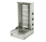Equipex GR 80E 88-lb Gyro Grill w/ 2-Independent Control Zones, 5-Heat Element, 208/240V