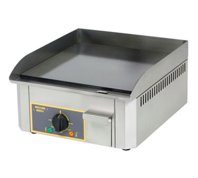 Equipex PSS-400/1 15-in Square Countertop Griddle w/ Brushed Steel Plate, 120 V