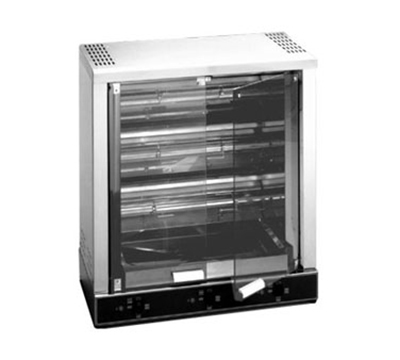 Equipex RBE-12/1 Electric 3-Spit Commercial Rotisserie, 208v/1ph