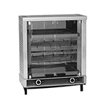 Equipex RBE-8/1 Electric 2-Spit Commercial Rotisserie, 208v/1ph
