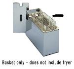 Equipex RF5 Half Size Fryer Basket, Steel