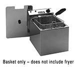 Equipex RF8 Half Size Fryer Basket, Steel