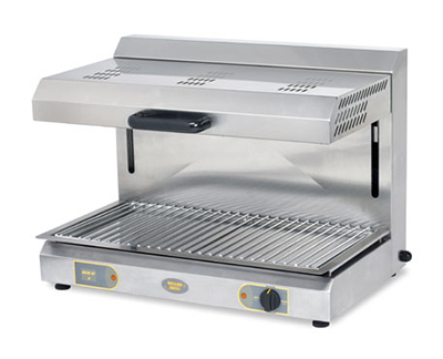"Equipex SEM-80Q-1 24"" Electric Salamander Broiler, 208v/1ph"