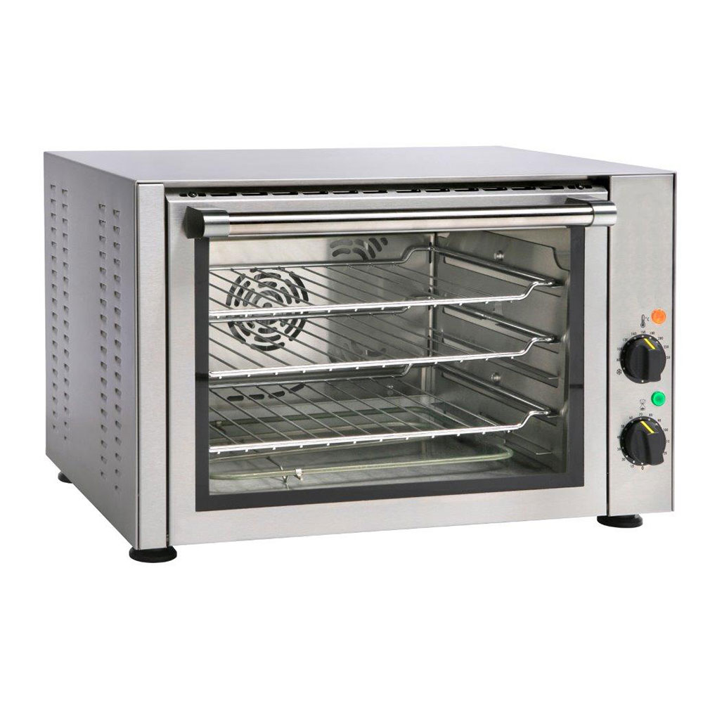 Equipex FC-34 Half-Size Countertop Convection Oven, 208-240v/1ph