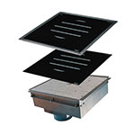 Equipex GL1800 DI Drop-In Commercial Induction Cooktop w/ (1) Burner, 120v