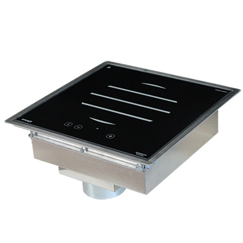 Equipex GL3000DI Drop-In Commercial Induction Cooktop w/ (1) Burner, 208-240v/1ph