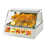 Equipex HOT 200 Heated Display Case w/ (2) Pan Capacity, 120v