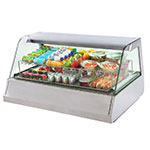 Equipex HOT 300 Heated Display Case w/ (3) Pan Capacity, 208-240v/1ph