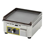 """Equipex PSE-400/1 15"""" Electric Griddle - Thermostatic, 1"""" Cast Iron Plate, 120v"""