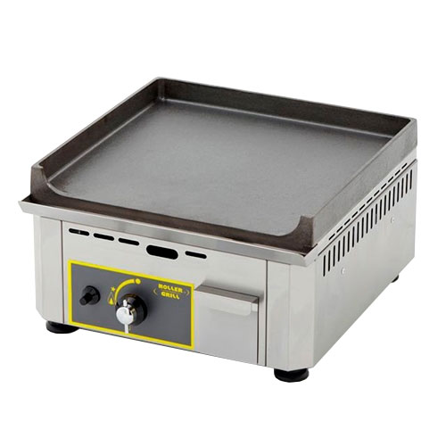 "Equipex PSE-400 15"" Electric Griddle - Thermostatic, Cast Iron Plate, 208-240v/1ph"
